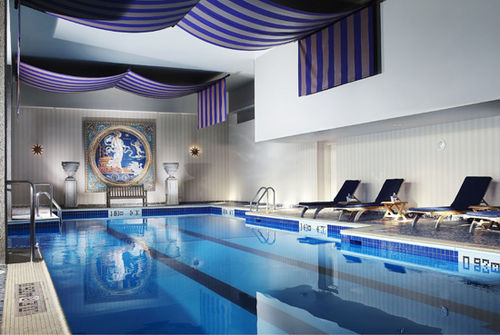 The Hotel Is Equipped With An Enormous Pool Definitely A Great Option You Want To Get Some Laps In