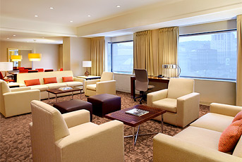 The Centre Sheraton Is Best Overall Value For A Bachelor Party Hotel In Montreal And Their Hospitality Suites Are No Exception